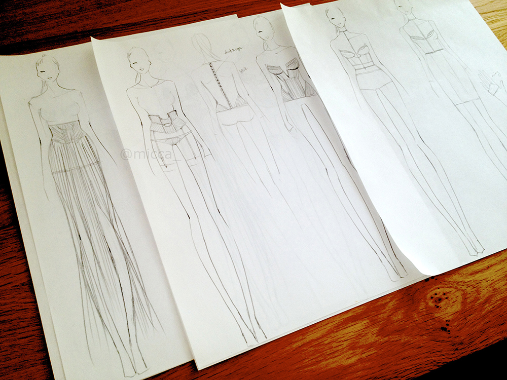 fashion+sketch+croquis
